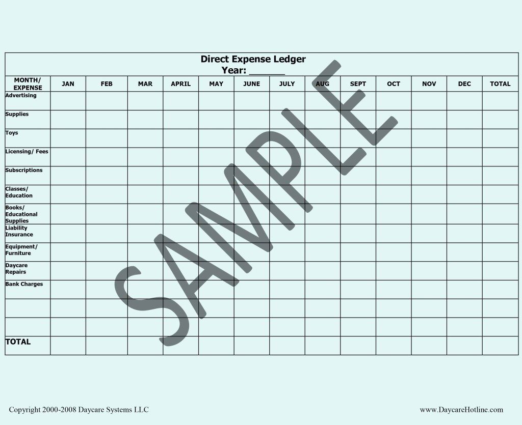 preview daycare forms